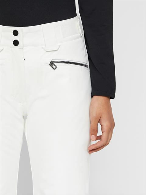 Womens Truuli 2-Layer Pants White