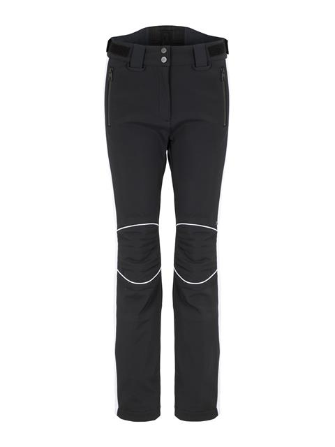 Womens Stanford Striped Soft Shell Pants Black