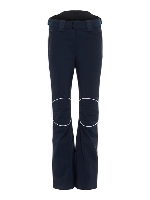 Womens Stanford Striped Soft Shell Pants JL Navy