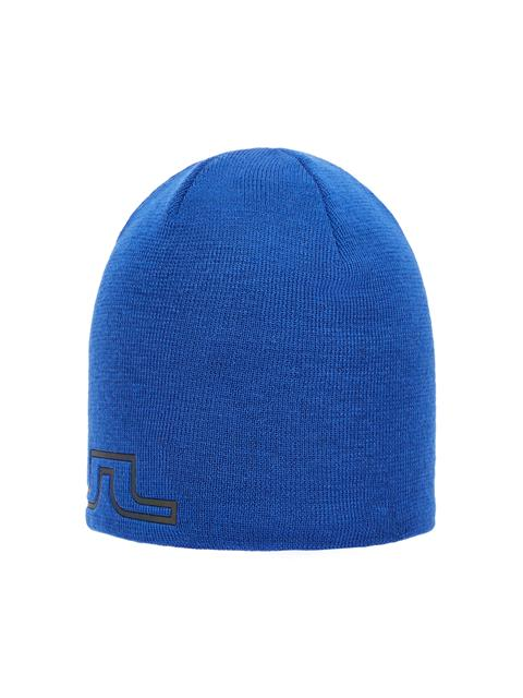 Mens Logo Wool Hat Pop Blue