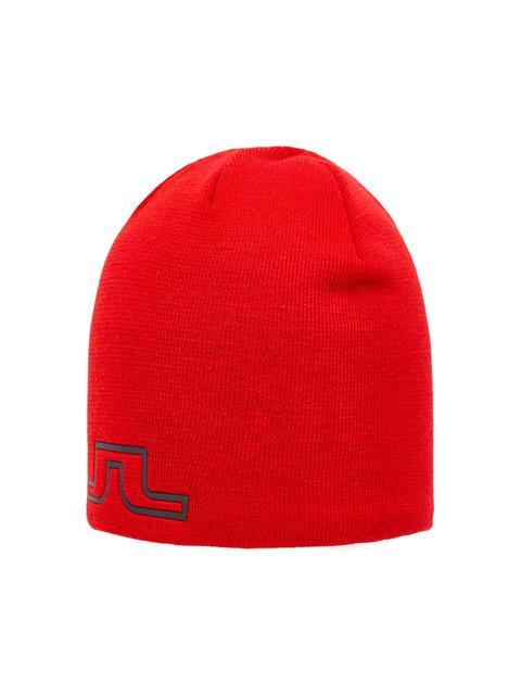 Mens Logo Wool Hat Racing Red