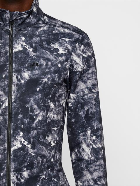 Mens Kimball Printed Midlayer Glacier Grey