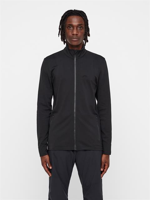 Mens Finn Seamless Midlayer Black