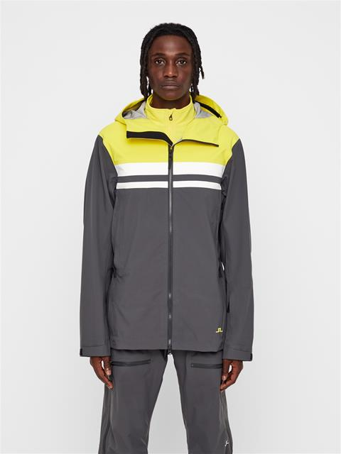 Mens Harper 3-Layer Jacket Banging Yellow