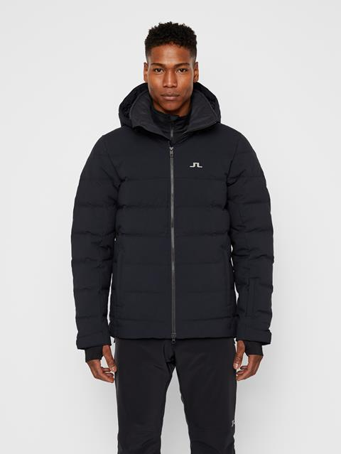 Mens Russel 2-Layer Down Jacket Black