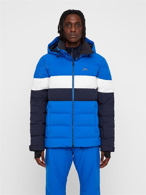 Mens Russel 2-Layer Down Jacket Pop Blue