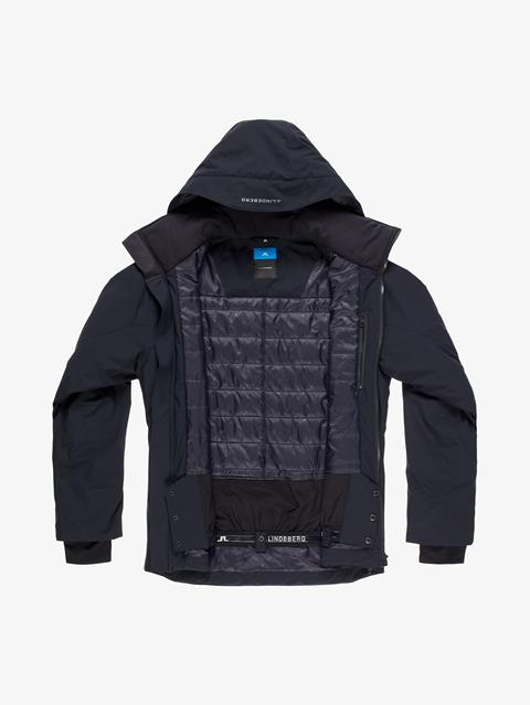 Mens Truuli 2-Layer Jacket Black