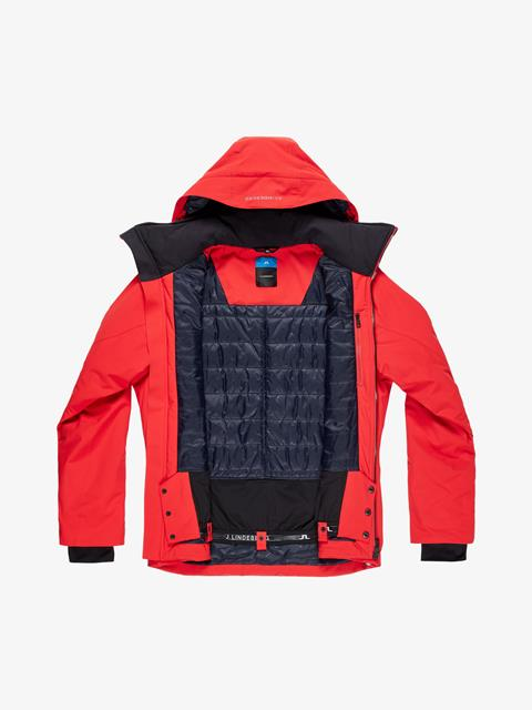 Mens Truuli 2-Layer Jacket Racing Red