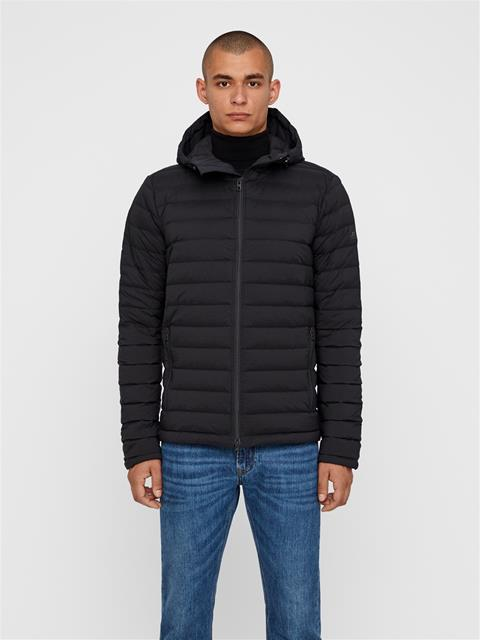 Mens Ease Hooded Down Liner Black