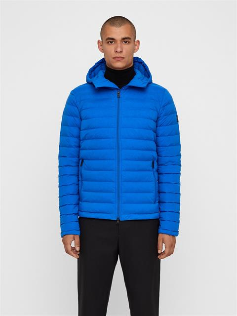 Mens Ease Hooded Down Liner Pop Blue