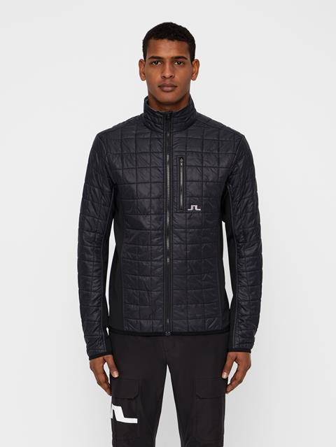Mens Atna Pertex Hybrid Jacket Black