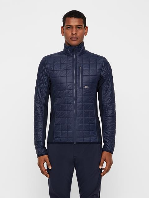Mens Atna Pertex Hybrid Jacket JL Navy