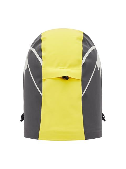 Mens Baker Print Padded Hood Banging Yellow