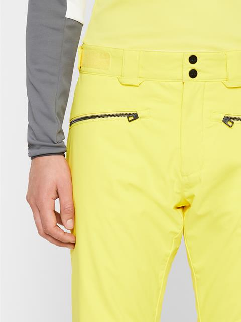 Mens Truuli 2-Layer Pants Banging Yellow