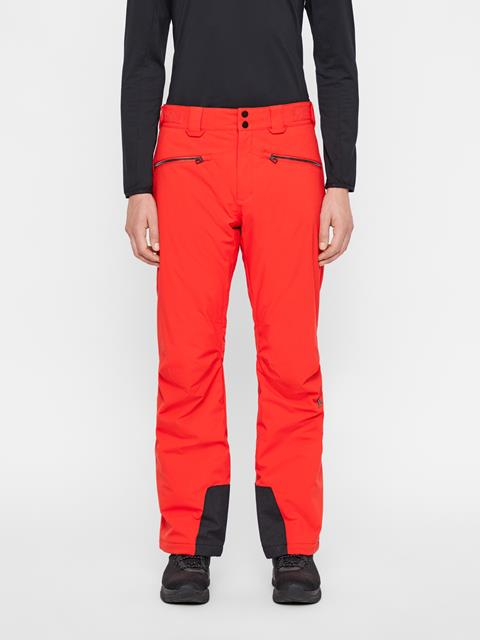 Mens Truuli 2-Layer Pants Racing Red