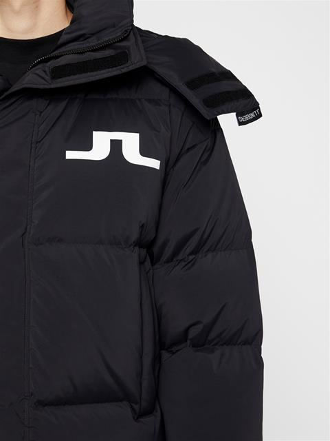 Mens Tilton Down Coat Black
