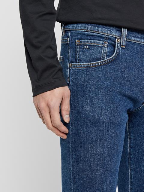 Mens Jay Jeans - Crikey Mid blue