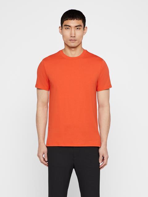 Mens Silo Cotton T-shirt Fried Tomato