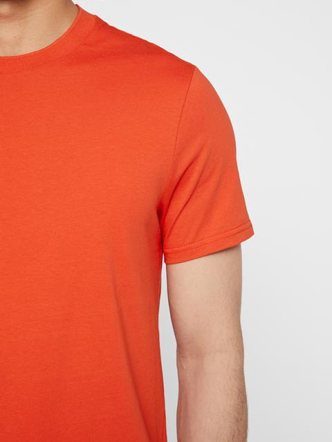 Mens Silo Cotton T-shirt Fried Tomato