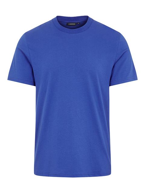 Mens Silo Cotton T-shirt Pool Blue