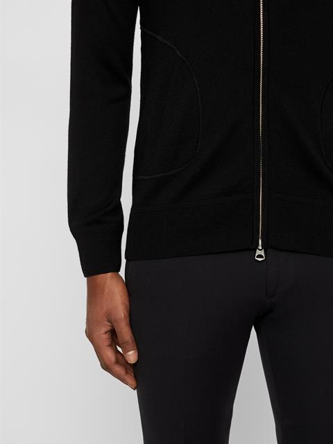 Mens Lorie Merino Wool Sweater Black