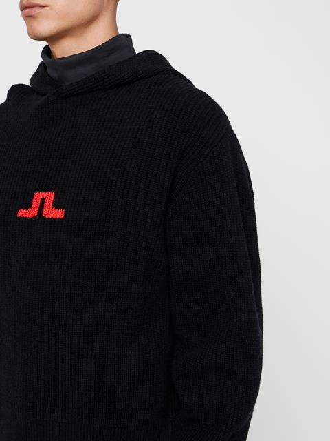 Mens Michel Wool Sweater Black