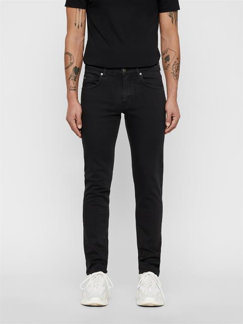 Mens Jay Solid Stretch Jeans Black