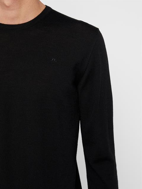 Mens Newman Wool Sweater Black