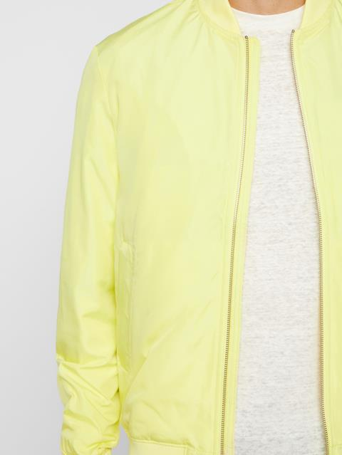 Mens Thom Bomber Jacket Still Yellow