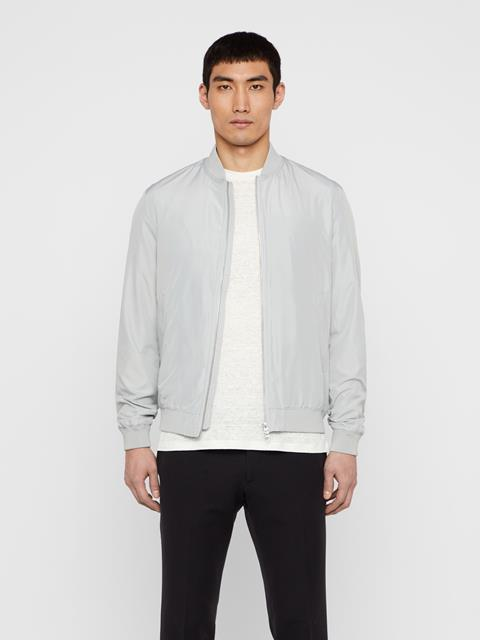 Mens Thom Bomber Jacket Stone Grey