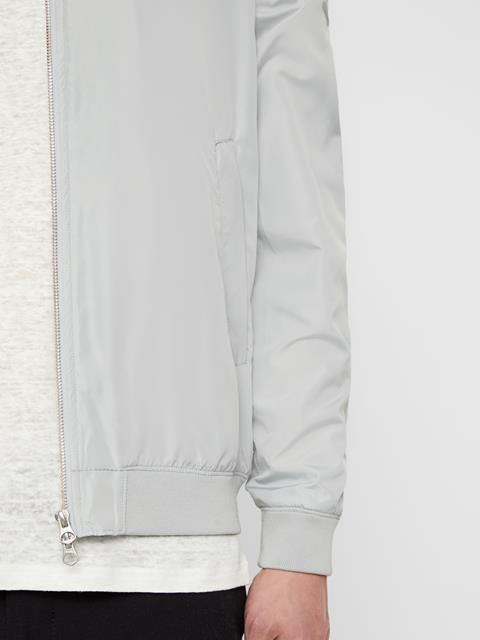 Mens Thom Bomber Jacket Stone Grey