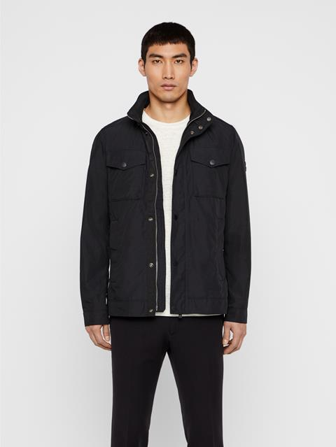 Mens Bailey Canvas Jacket Black