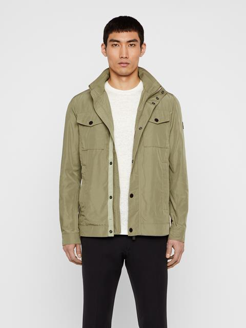 Mens Bailey Canvas Jacket Covert Green