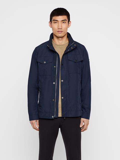 Mens Bailey Canvas Jacket JL Navy
