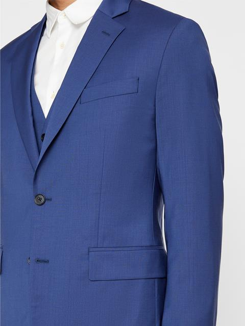 Mens Hopper Comfort Wool Blazer Yale Blue