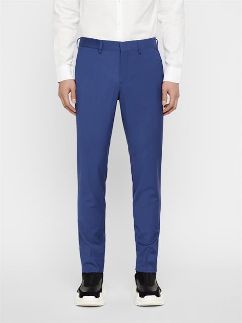 Mens Paulie Comfort Wool Pants Yale Blue