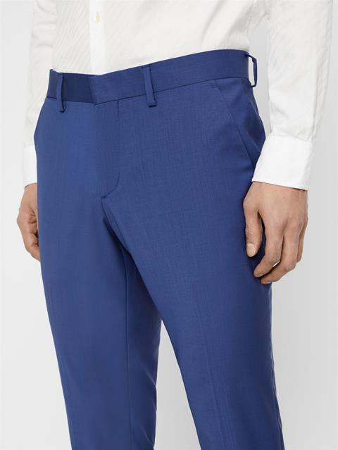 Mens Paulie Comfort Wool Pants Yale Blue