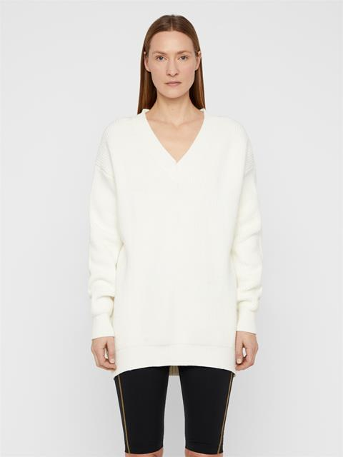 Womens Jane Summer Sweater Cloud White