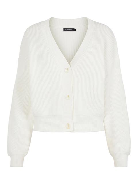 Womens Vanessa Summer Cardigan Cloud White