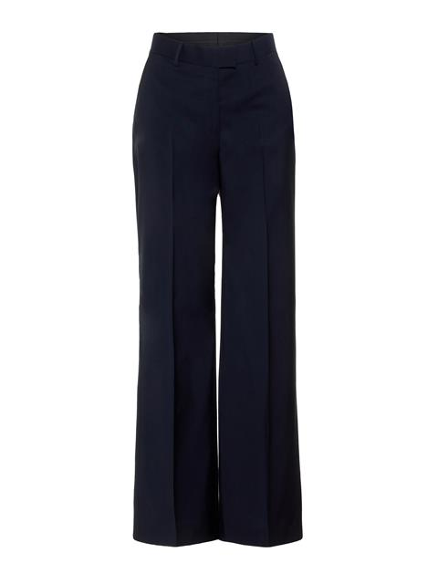 Womens Kori Voyager Wool Pants JL Navy