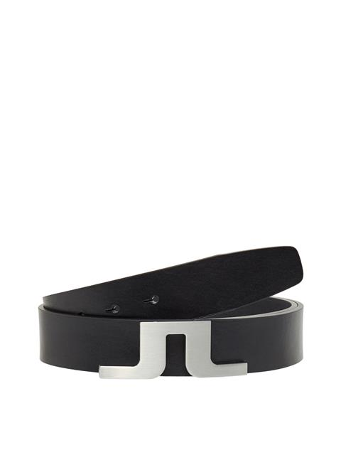 Mens Bridger Leather Belt Black
