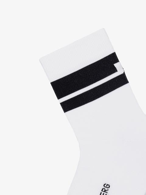 Mens Dry Yarn Golf Sock White