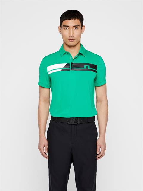 Mens Clark TX Jersey Polo Stan Green