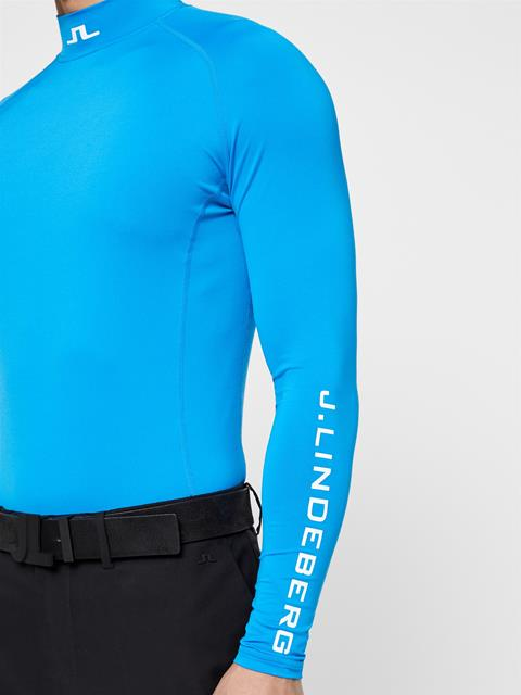 Mens Aello Compression Layer True Blue