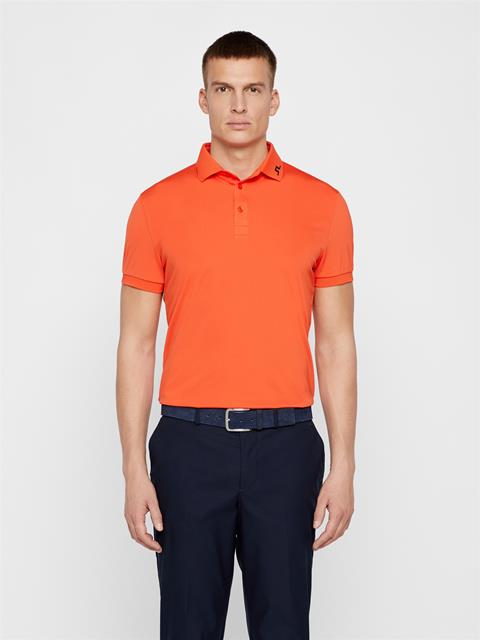 Mens KV TX Jersey Polo Tomato Red