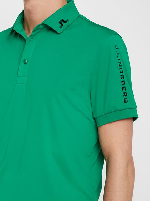 Mens Tour Tech TX Jersey Polo Stan Green