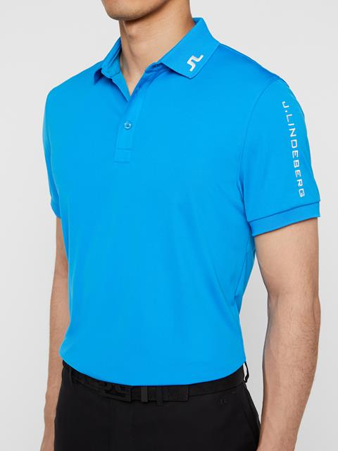 Mens Tour Tech TX Jersey Polo True Blue