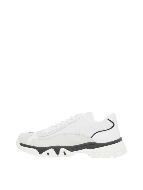 Mens Rory Low Top Sneakers White