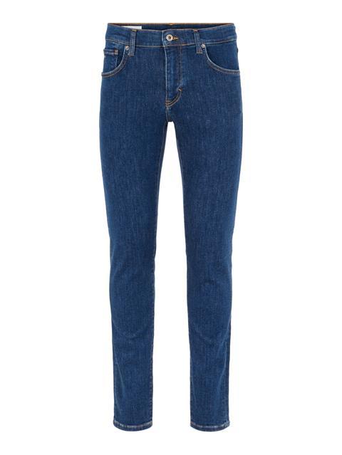 Mens Jay Active Mid Indigo Jeans Mid Blue