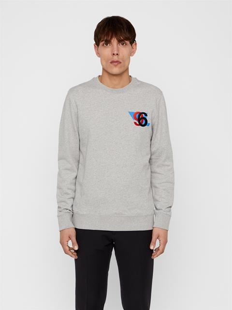 Mens Thrust Sweatshirt Grey Melange